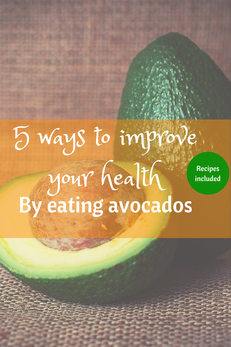 Improve you health by eating more avocados